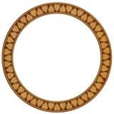 Estrutura de madeira com corações Imagens de Stock Royalty Free