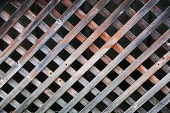 Estrutura de madeira com um teste padrão regular foto de stock