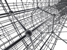 Estrutura de Nanotube foto de stock royalty free