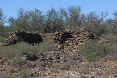 Estrutura de pedra antiga Imagens de Stock Royalty Free