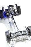 Estrutura de sistema da condução do automóvel Imagens de Stock Royalty Free