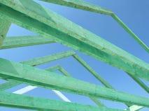 Estrutura de telhado imagens de stock