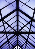 Estrutura de telhado fotografia de stock royalty free