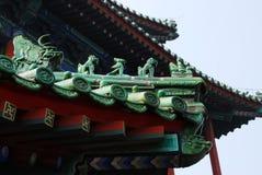 Estrutura de telhado chinesa Fotos de Stock