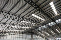 Estrutura de telhado do metal Fotografia de Stock