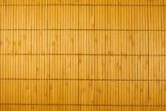 Estrutura de um guardanapo de bambu Fotografia de Stock Royalty Free
