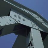 Estrutura de uma ponte fotografia de stock