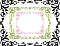 Estrutura decorativa ilustração royalty free