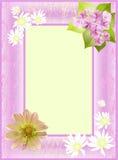 Estrutura decorativa das flores ilustração do vetor
