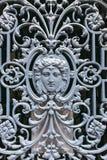 Estrutura decorativa do ferro forjado Imagem de Stock