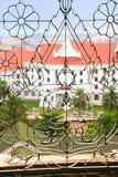 Estrutura decorativa em uma janela, Victory Gate Fotos de Stock