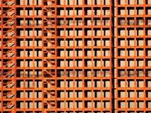 Estrutura despida do feixe do metal da construção de Tehran sob a construção Imagem de Stock