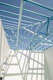 Estrutura do aço roof-02 Foto de Stock
