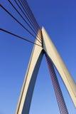 Estrutura do cais da ponte Fotografia de Stock Royalty Free