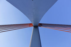 Estrutura do cais da ponte Foto de Stock Royalty Free