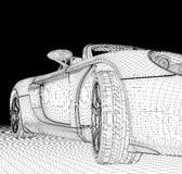 Estrutura do carro imagens de stock royalty free