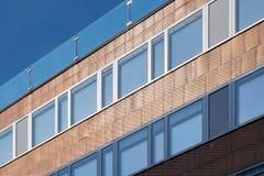 Estrutura do cobre da construção de Viena Fotos de Stock
