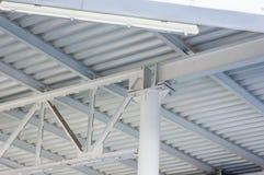 A estrutura do ferro A indústria da construção civil Imagem de Stock Royalty Free