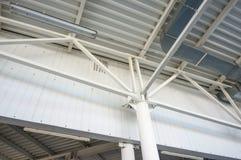 A estrutura do ferro A indústria da construção civil Imagens de Stock Royalty Free