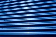 Estrutura do ferro ondulado Fotografia de Stock Royalty Free
