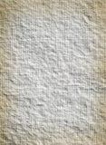 Papel velho branco Imagem de Stock