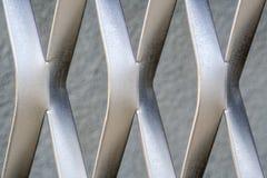 Estrutura do metal no formulário de X imagens de stock