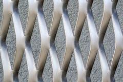 Estrutura do metal no formulário de X imagem de stock