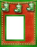 Estrutura do Natal ou dos Novo-Anos Fotos de Stock Royalty Free
