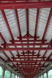 A estrutura do telhado Foto de Stock Royalty Free