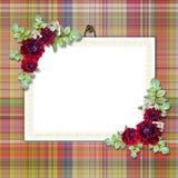 Estrutura elegante no fundo de matéria têxtil Fotos de Stock Royalty Free