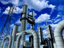Estrutura industrial Imagens de Stock