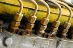 Estrutura industrial Fotos de Stock Royalty Free