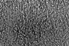 Estrutura listrada preto e branco abstrata Fotografia de Stock
