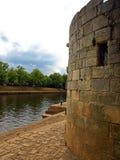 Estrutura medieval em York, Inglaterra imagem de stock