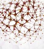 Estrutura molecular ilustração royalty free
