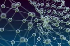 Estrutura molecular Imagens de Stock