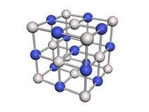 Estrutura molecular Fotografia de Stock Royalty Free