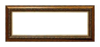 Estrutura no estilo antigo Moldura para retrato do vintage foto de stock royalty free