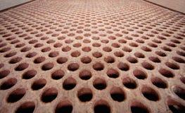 Estrutura oxidada do metal - cambista de calor Fotos de Stock Royalty Free