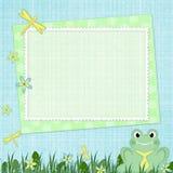Estrutura para a foto do bebê Imagens de Stock