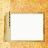 Estrutura para a foto ou o convite Fotos de Stock Royalty Free