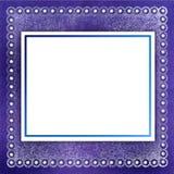 Estrutura para a foto ou o convite Fotografia de Stock Royalty Free