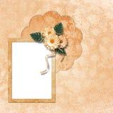 Estrutura para a foto ou o convite Foto de Stock