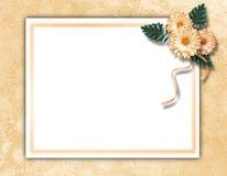 Estrutura para a foto ou o convite Imagem de Stock Royalty Free