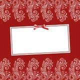 Estrutura para o convite Imagem de Stock Royalty Free