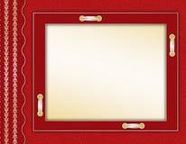 Estrutura para uma foto ou um convite Imagem de Stock Royalty Free
