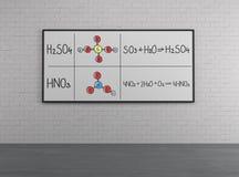 Estrutura química Fotos de Stock