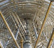 Estrutura stanless transversal Imagens de Stock Royalty Free