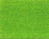 Estrutura verde de matéria têxtil com linhas Fotografia de Stock
