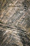 Estruturas abstratas escuras na madeira velha Fotos de Stock